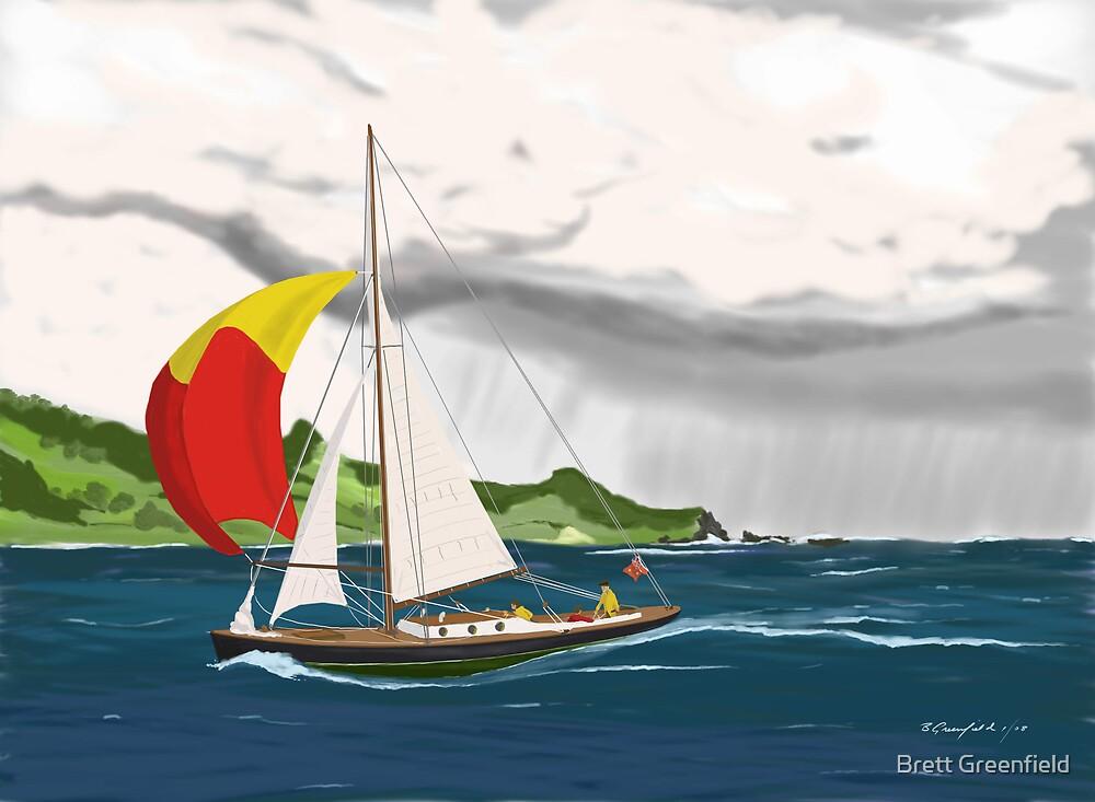 Downwind by Brett Greenfield