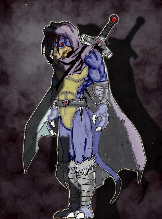 dark hawk by rowanpunk