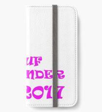 Magaluf weekender 2017 pink iPhone Wallet/Case/Skin