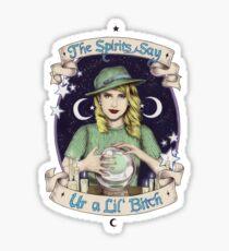 Mystic Miss Maggie Esmerelda (color) Sticker