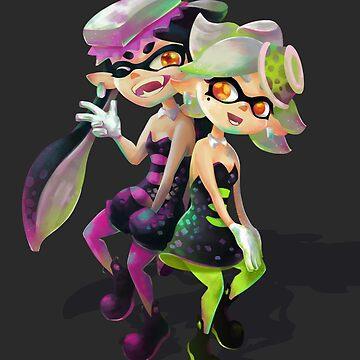 Squid sisters by Emeryl