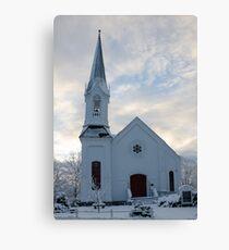 Newfields Community Church 02 Canvas Print