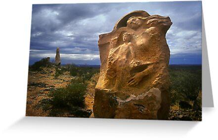 0851 Outback Sculpture  by Hans Kawitzki