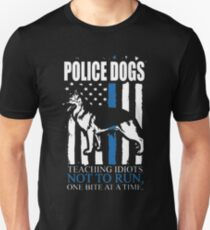 Police Dogs Unisex T-Shirt