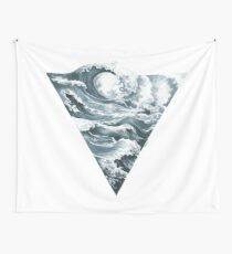 Elemental Alchemy: Water (colour) Wall Tapestry