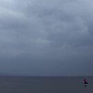 Sail boat on Lake Taupo by Ashley Ng