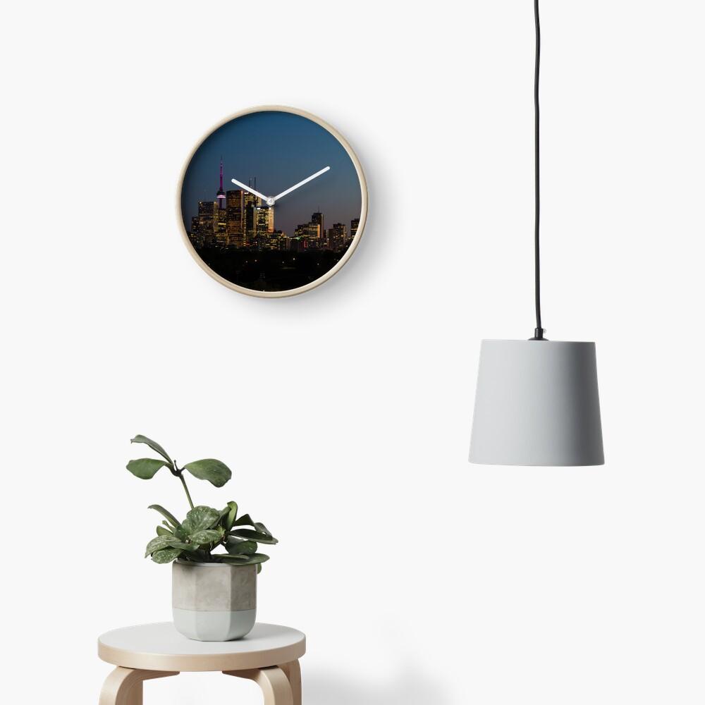 Toronto Skyline Clock