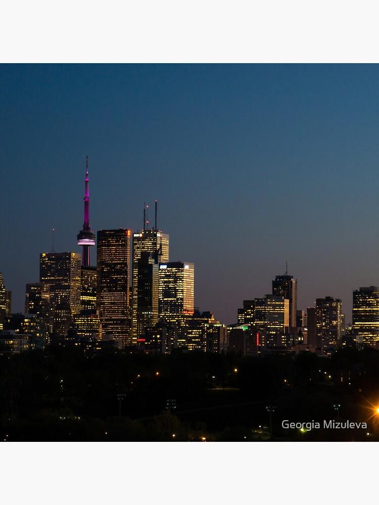 Toronto Skyline by GeorgiaM