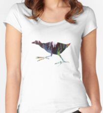 Gallinule  Women's Fitted Scoop T-Shirt