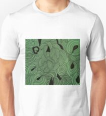 Ether Formation Green Unisex T-Shirt