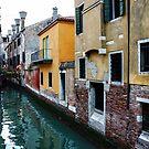Impressions of Venice - Fabulous Distinctive Chimneys and Charming Bridges by Georgia Mizuleva