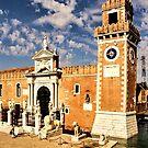 Impressions of Venice - Arsenale di Venezia Lions by Georgia Mizuleva