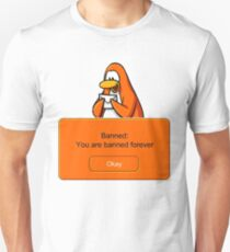 Club Penguin - Banned (Large Alternate) T-Shirt