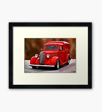 1937 Dodge 'Humpback' Delivery Panel I Framed Print