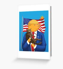 American Catastrophe Greeting Card