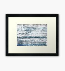 Weldon Blue abstract watercolor Framed Print