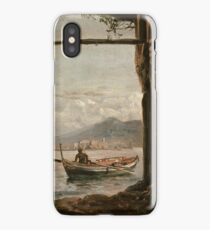 View from a Grotto near Posillipo 1820 Johan Christian Claussen Dahl iPhone Case/Skin