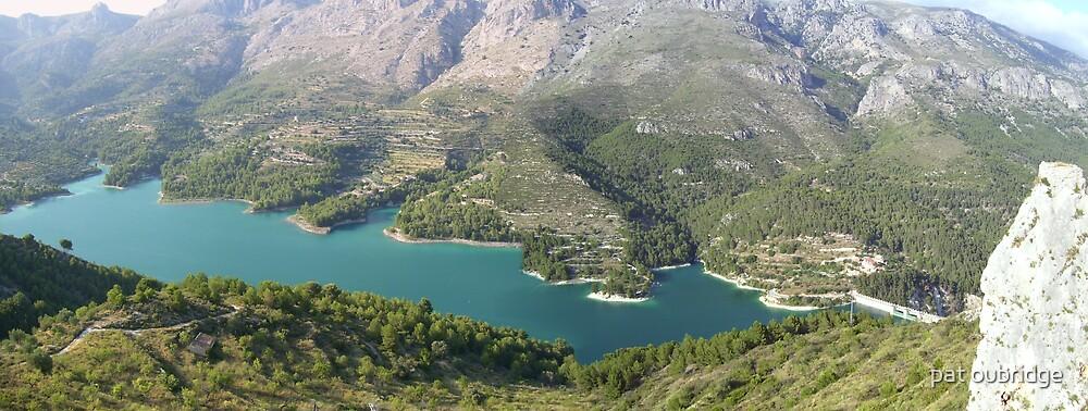 Guadalest in Spain by pat oubridge