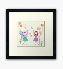 Flower Fairies Framed Print