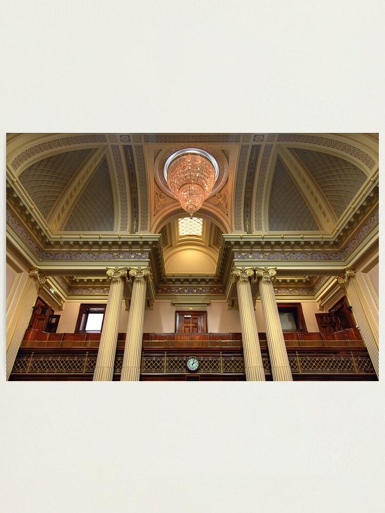 Alternate view of 0918 Legislative Chamber  Photographic Print