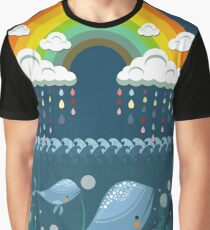 Rain bow in ocean Graphic T-Shirt