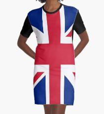 Union Jack iPhone Case Graphic T-Shirt Dress