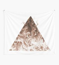 Elemental Alchemy: Fire (colour) Wall Tapestry