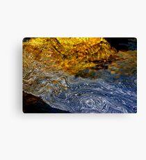 Water Pattern 6 Canvas Print