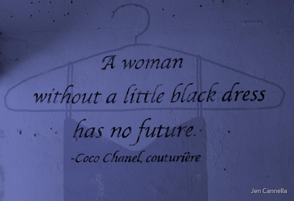 Little Black Dress by Jen Cannella
