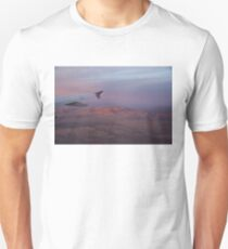 Flying Over the Mojave Desert at Sunrise T-Shirt