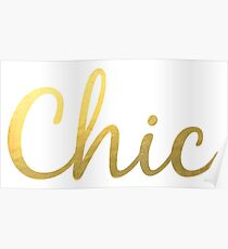 Chic Poster