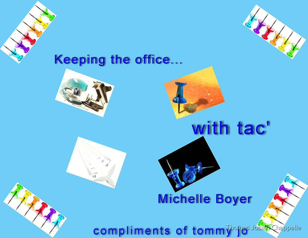 Keeping Office with Tac'    M. Boyer style by Thomas Josiah Chappelle
