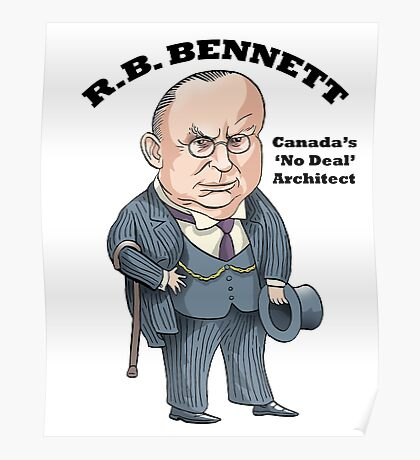 R.B. Bennett 'No Deal' Poster