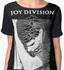 unknown pleasures (Joy division ian curtis) Chiffon Top