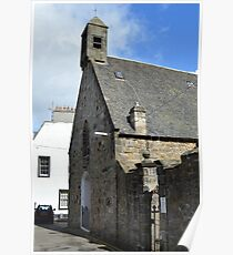 Stone House, South Queensferry Poster