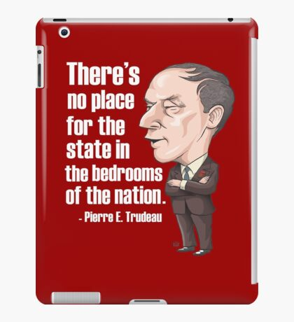 No Place for the State in the Bedrooms of the Nation iPad Case/Skin