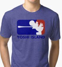 TEAM YOSHI ISLAND Tri-blend T-Shirt
