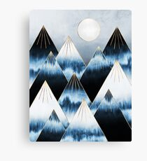 Frost Mountains Canvas Print