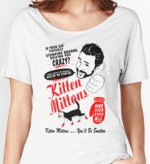 Kitten Mittons Women's Relaxed Fit T-Shirt