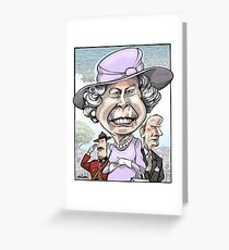 Queen Elizabeth II Greeting Card