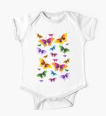 flurry of butterflies Kids Clothes