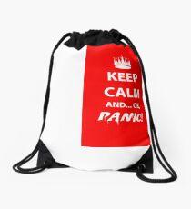 Keep Calm and Panic! Drawstring Bag