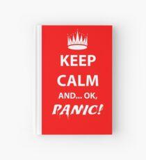 Keep Calm and Panic! Hardcover Journal