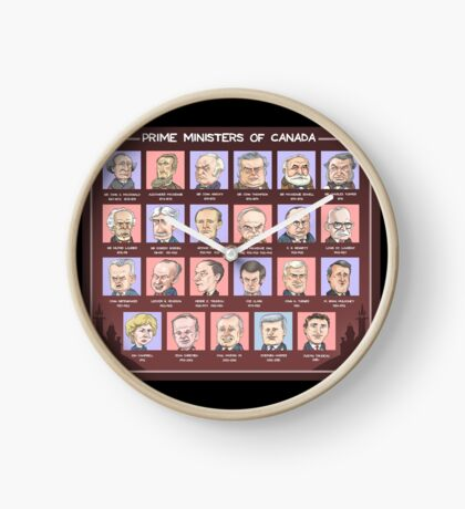 Canada's Prime Ministers (updated for 2015-2019) Clock