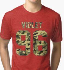 Alissa Violet - Camo Tri-blend T-Shirt
