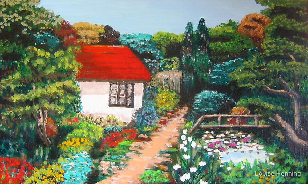 Summer Garden by Louise Henning