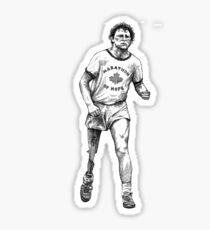 Terry Fox Sticker