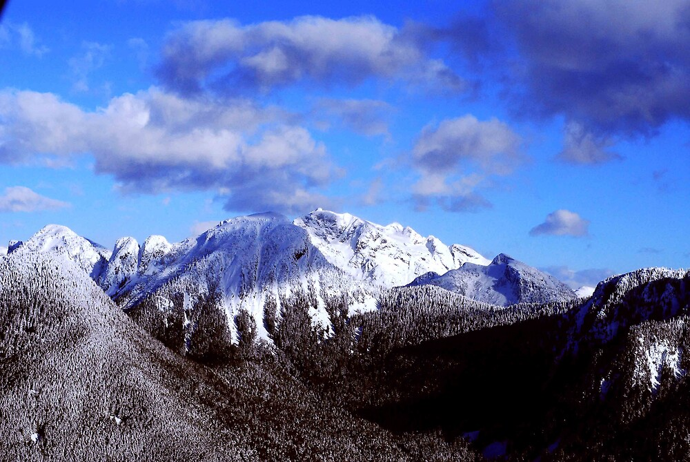 Fraser Valley Mountains by Jedy