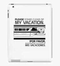 Monorail - Grayscale iPad Case/Skin