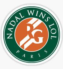 Roland Garros Nadal Wins LOL Sticker